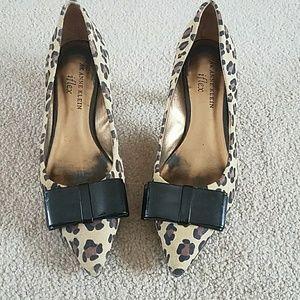 Anne Klein Size 5 Heels Leopard